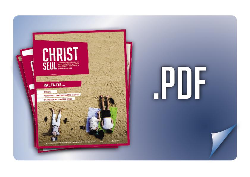 Abonnement 1 an à Christ Seul en ligne