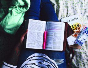méditer et prier la bible