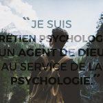Pourquoi suis-je psychologue ?
