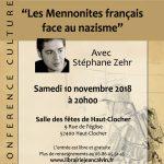 Les mennonites français face au nazisme